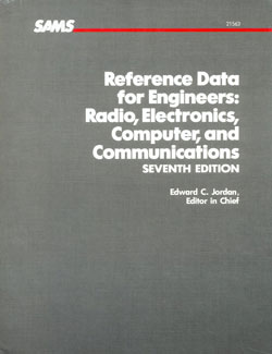 Reference Data for Engineers Radio Electronics cover